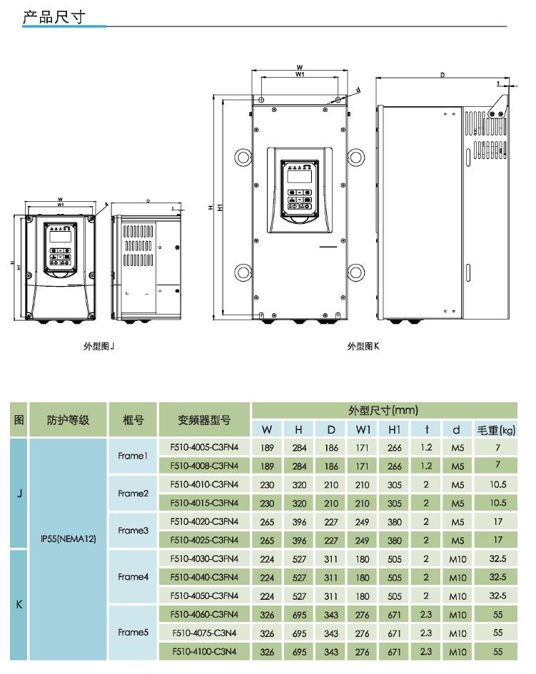 东元F510通用型矢量变频器 变频器 第10张