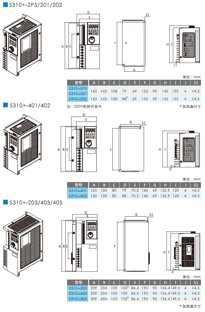 东元S310+/N310+系列变频器 变频器 第7张