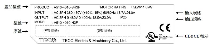 东元A510s系列变频器 变频器 第2张